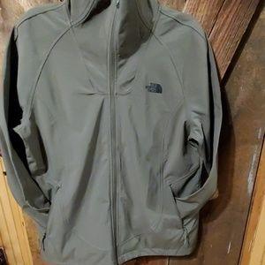NEW Olive green softshell jacket
